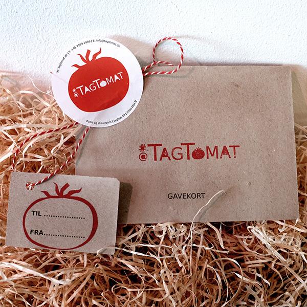 Gavekort til TagTomats webshop