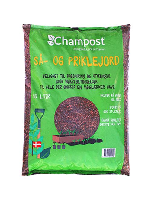 Champost - Så- og priklejord - 10L