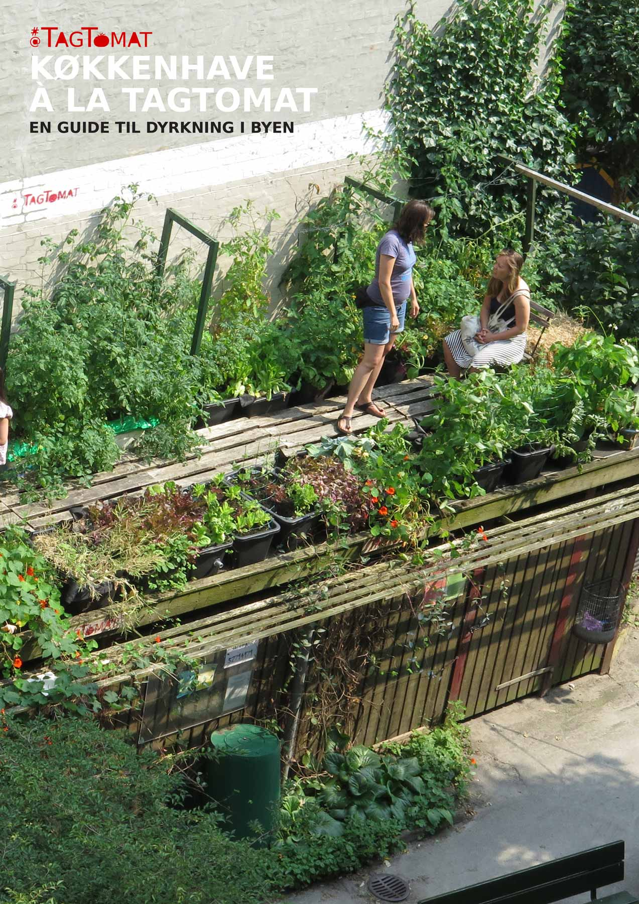 E-bog: Køkkenhave à la TagTomat - En guide til dyrkning i byen